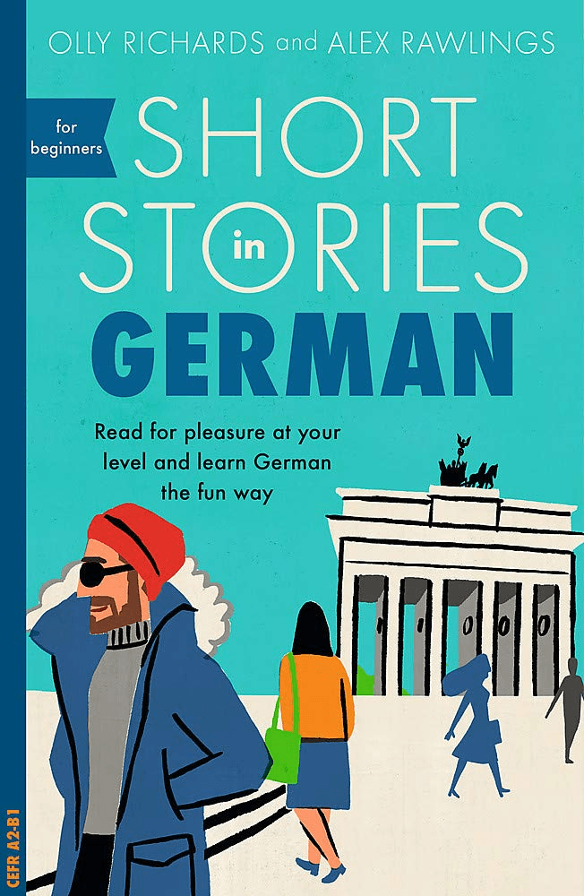 Book cover short stories in German for beginners