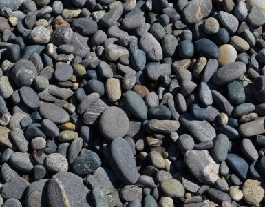 little pebbles to signify variety