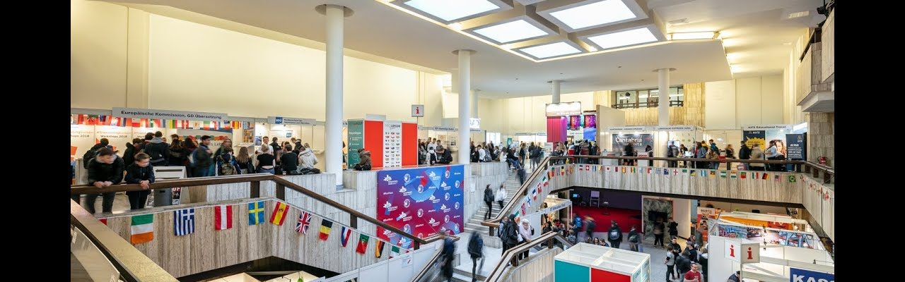 expolingua 2019 visitors and booths
